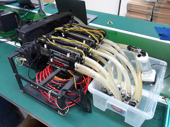 Pre-made BTU9P FPGA Mining Rig by FPGA.guide