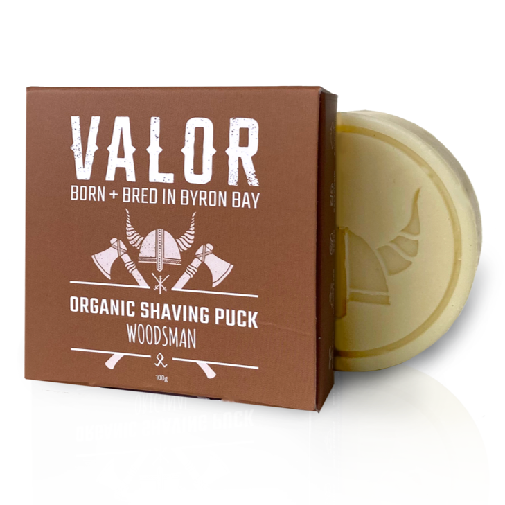 Shaving Soap Puck