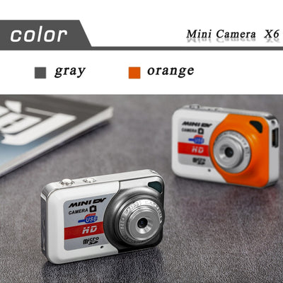 HD 1280*1024 Ultra Portable Mini Camera Video Recorder Digital Small Cam Support TF Card Micro Secure Digital Memory Card