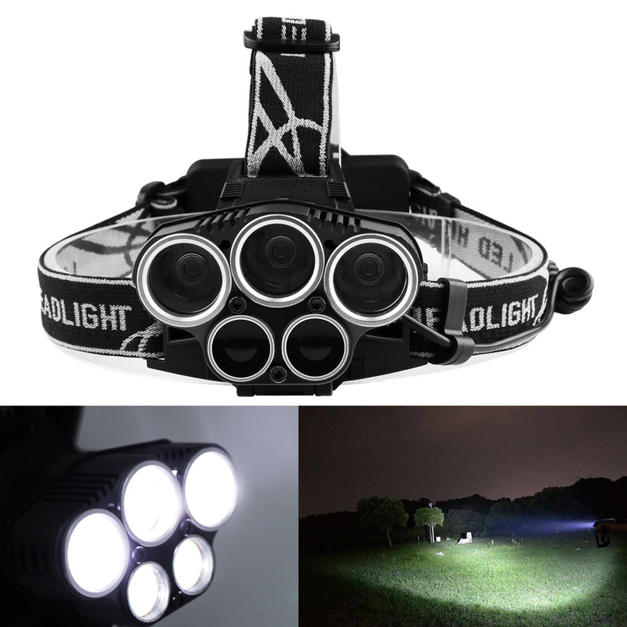 Rechargeable Outdoor Flashlight