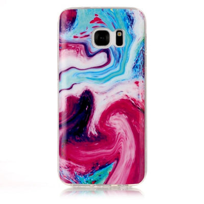 Case For Samsung Note 8 Back Cover Soft Silicone TPU Marble Case sFor Samsung Galaxy S3 S4 S5 S6 S6 Edge S7 Edge S8 S8 Plus Case