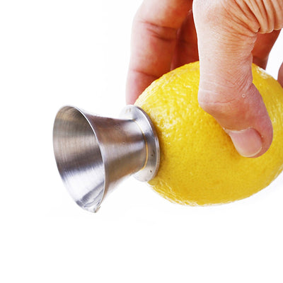 Manual Lemon Juicer Squeezer and Lemon Pourer, Stainless Steel