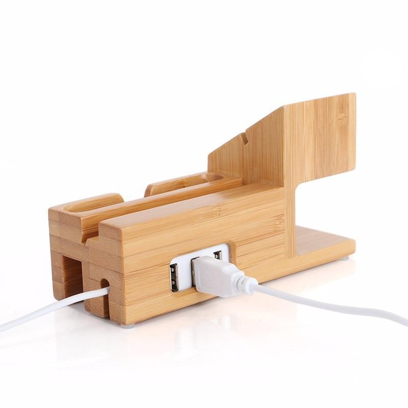 Bamboo iPhone Cradle - Orchestry