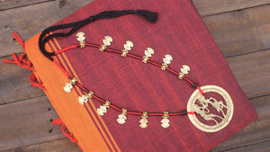 Tribal Dhokra Tribal People Necklace