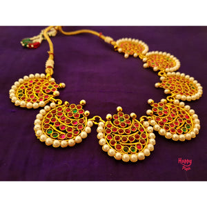 Traditional Kemp Chaand Antique Necklace