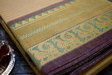 Korvai Annapakshi Border Chettinad Cotton Saree