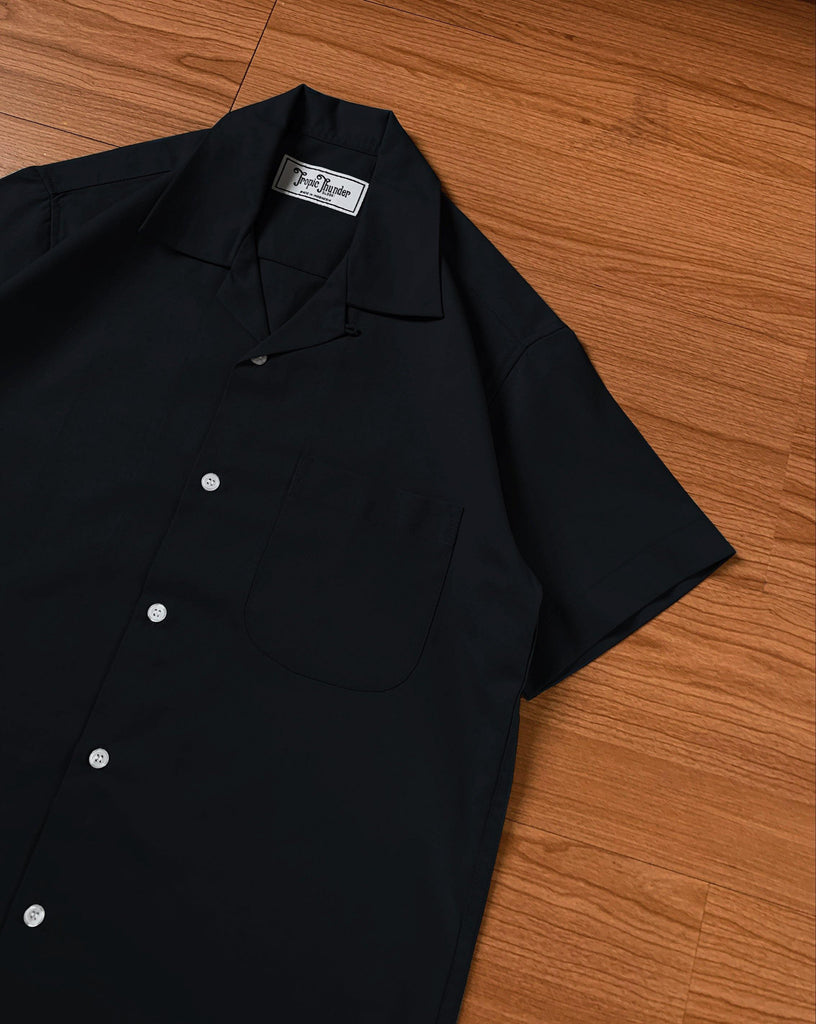 Black Plain Shirt - Tropic Thunder