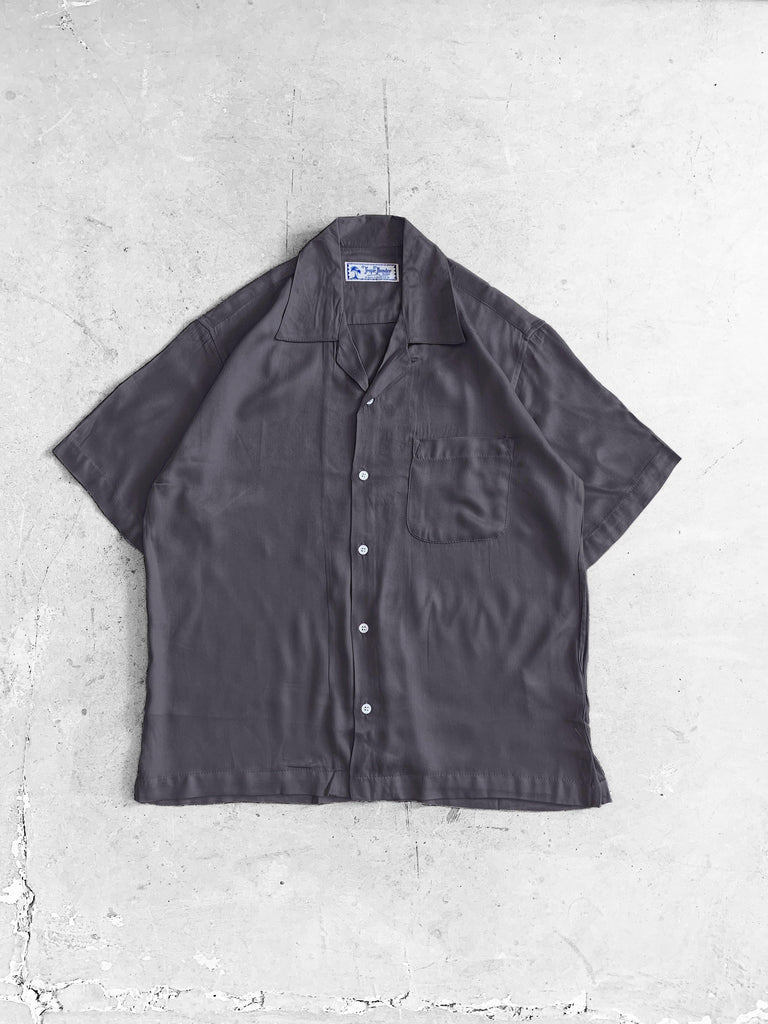 Smoke Grey Plain Shirt - Tropic Thunder