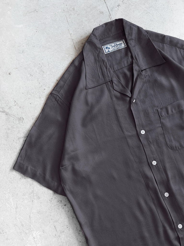 Smoke Grey Plain Shirt