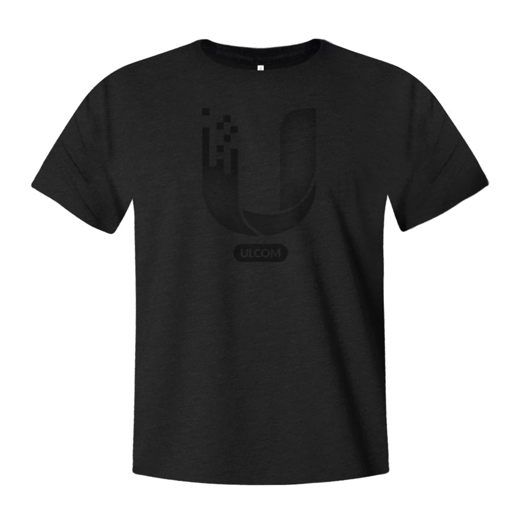 UI.COM T-shirt, Black