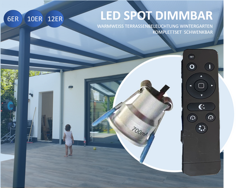 Minispots LED 2-3W IP65