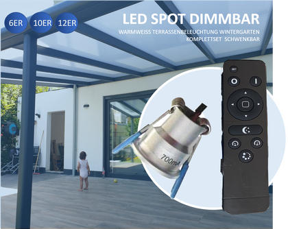 Minispots LED 2W-3W IP 44
