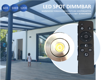 Schwenkbare LED 3W IP65