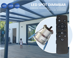 6x LED Downlight Minispots mit Trafo und Kabel ( Dimmbar) 2W-3W/ IP44 Verkabelung