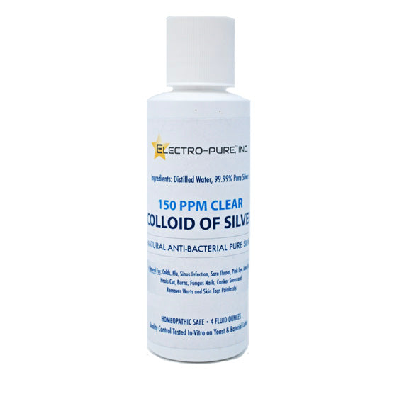 Colloidal Silver 150ppm 32oz bottle