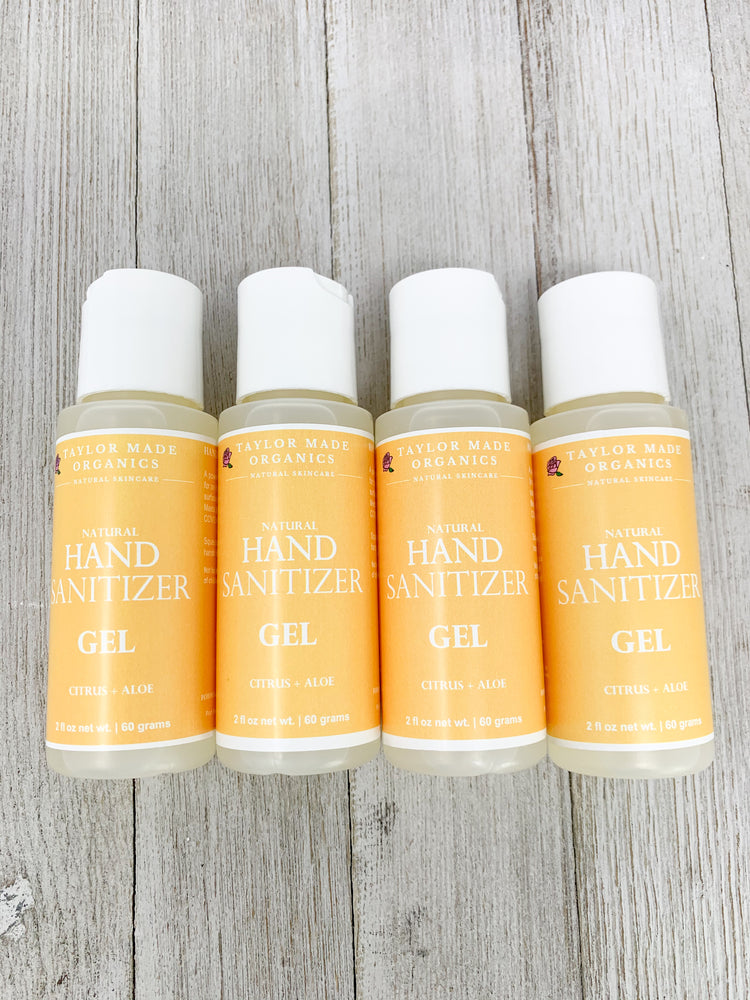 Hand Sanitizer Gel Bundle- citrus + aloe