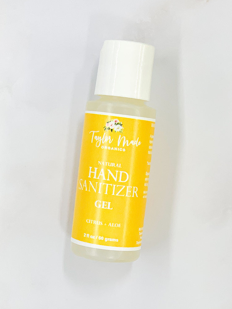 Hand Sanitizer Gel - citrus + aloe