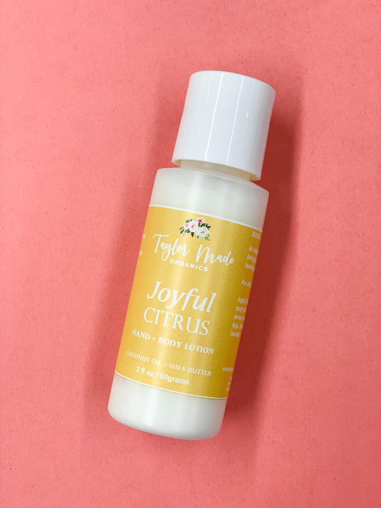 Joyful Citrus Hand + Body Lotion
