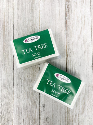 Load image into Gallery viewer, Tea Tree Bar Soap - fungal / candida