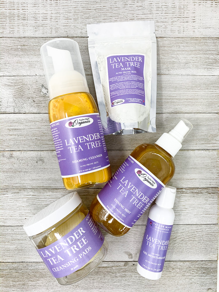 Lavender Tea Tree Starter Set - acne prone skin