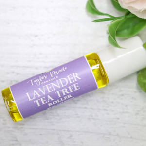 Load image into Gallery viewer, Lavender Tea Tree Roller - acne prone skin