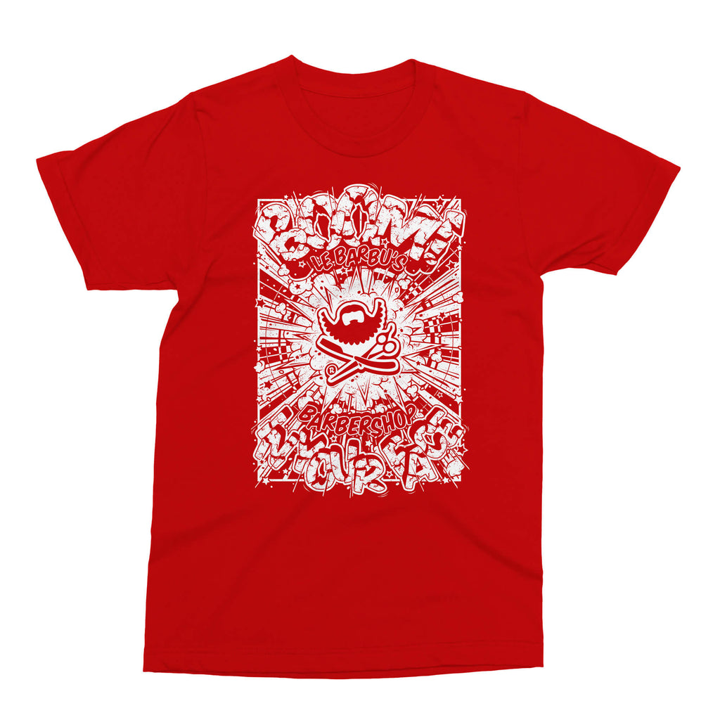 T-Shirt - Boom In Your Face - Red