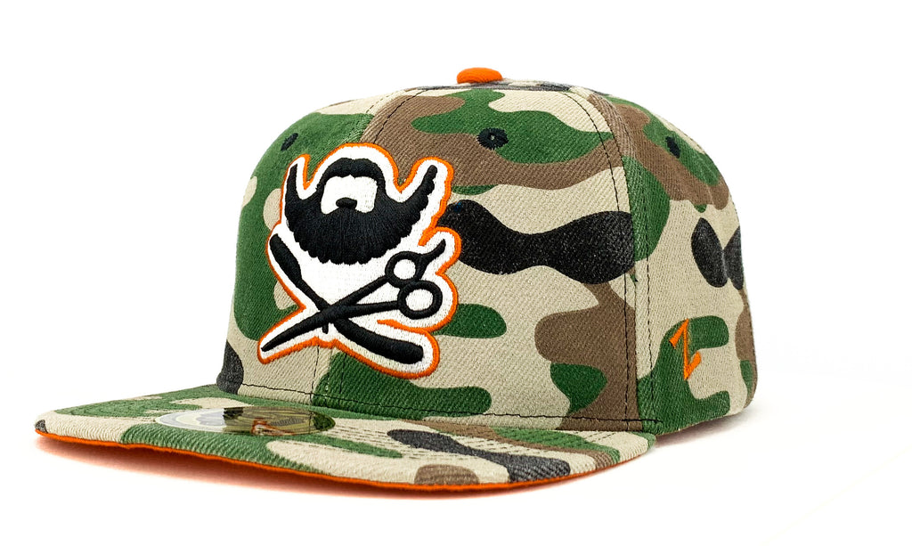 Snapback Cap - Classic - Camouflage