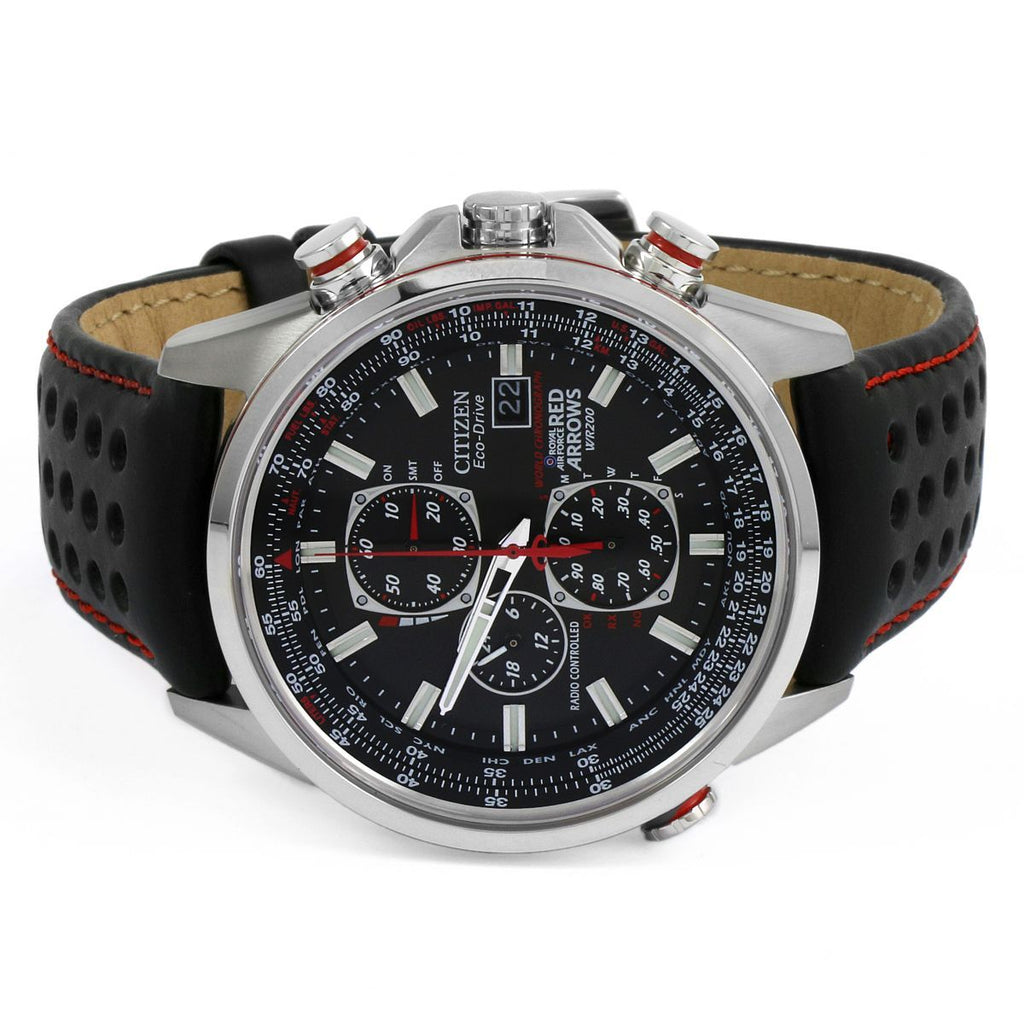 Citizen Red Arrows A-T Chronograph Radio Controlled Watch AT8060-09E