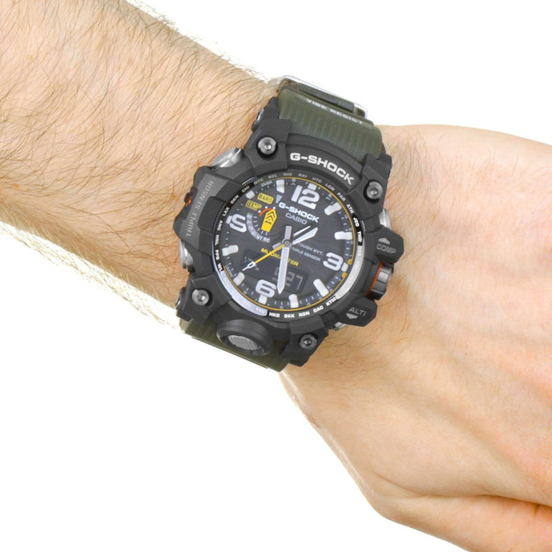 Casio G-Shock Premium Mudmaster Compass Alarm Chronograph Radio Controlled Watch GWG-1000-1A3ER