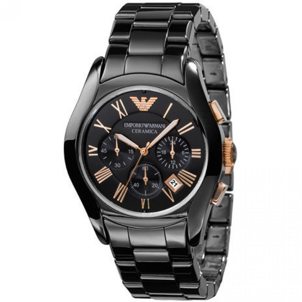 Emporio Armani Ceramic Chronograph Watch AR1410