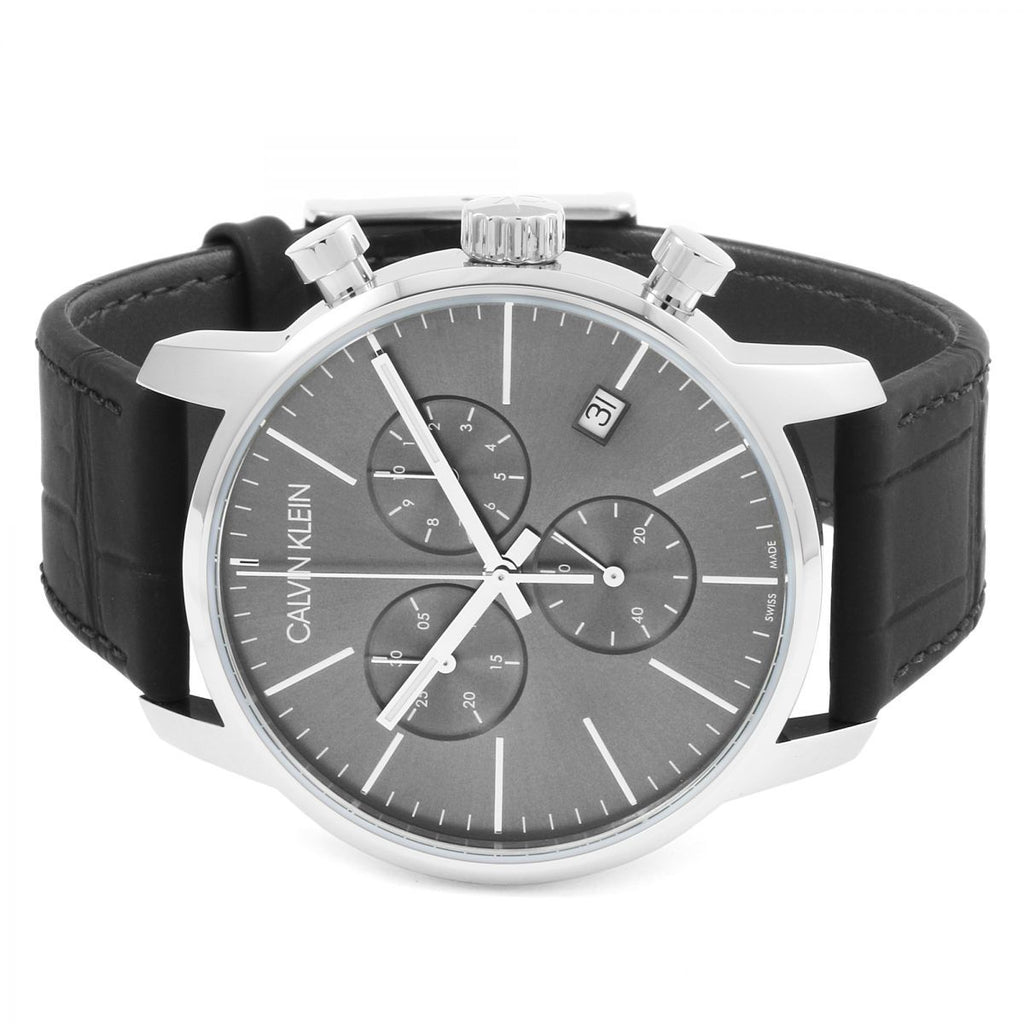 Calvin Klein City Chronograph Watch K2G271C3