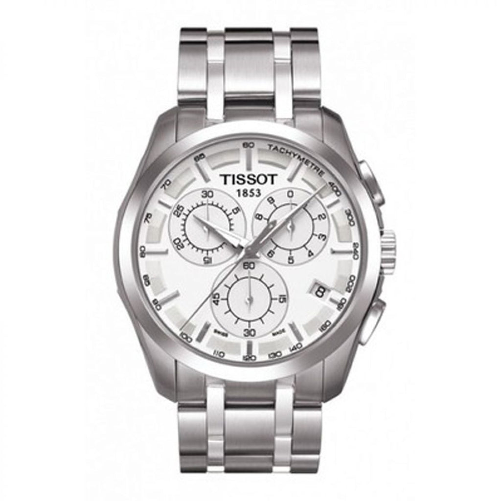 Tissot Couturier Chronograph Watch T0356171103100