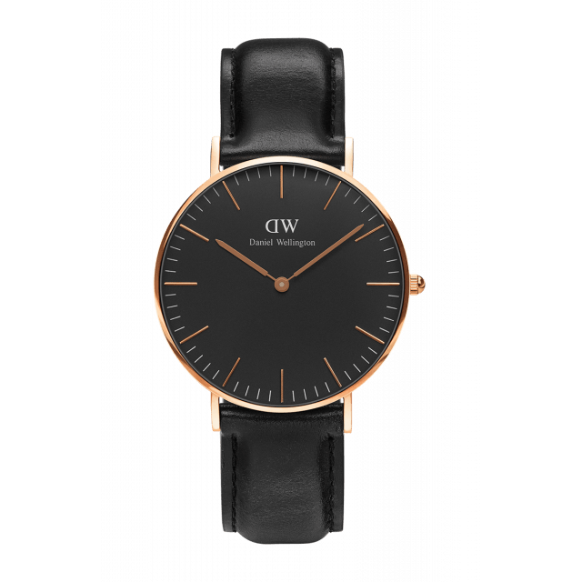 CLASSIC BLACK SHEFFIELD - Daniel Wellington
