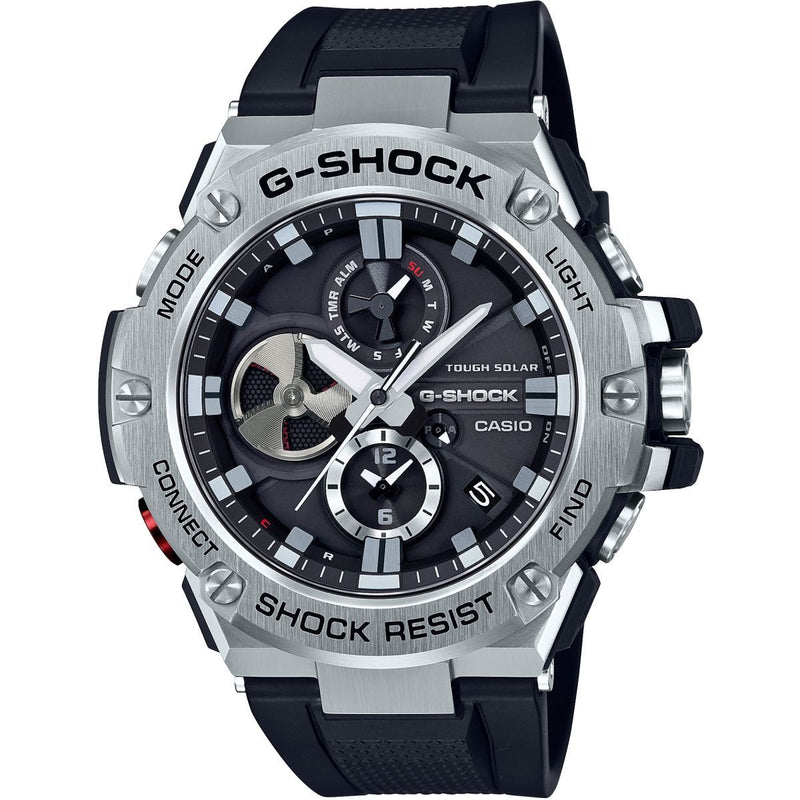 Casio G-Steel Bluetooth Triple Connect Chronograph Radio Controlled Watch GST-B100-1AER
