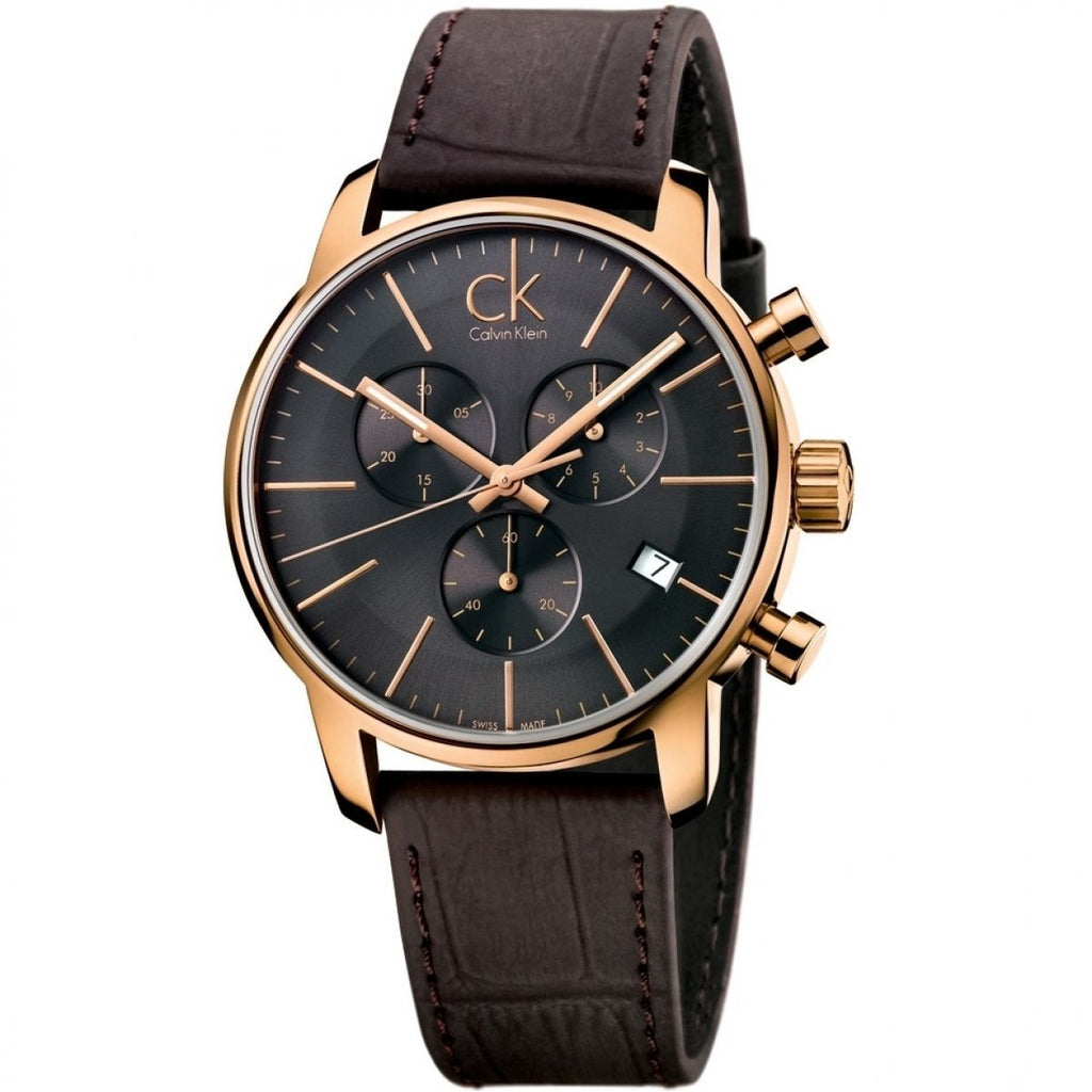Calvin Klein City Chronograph Watch K2G276G3