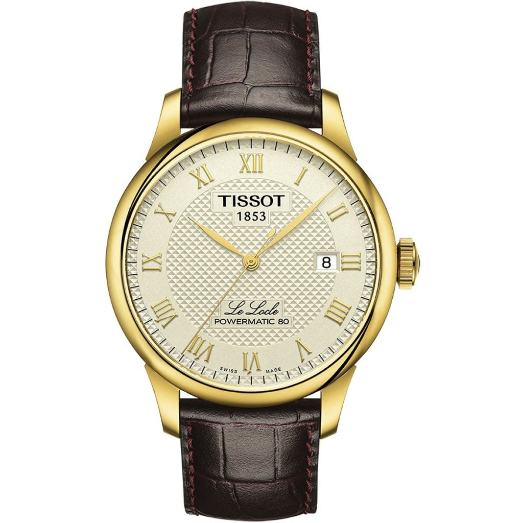 Tissot Le Locle Powermatic 80 Automatic Watch T0064073626300