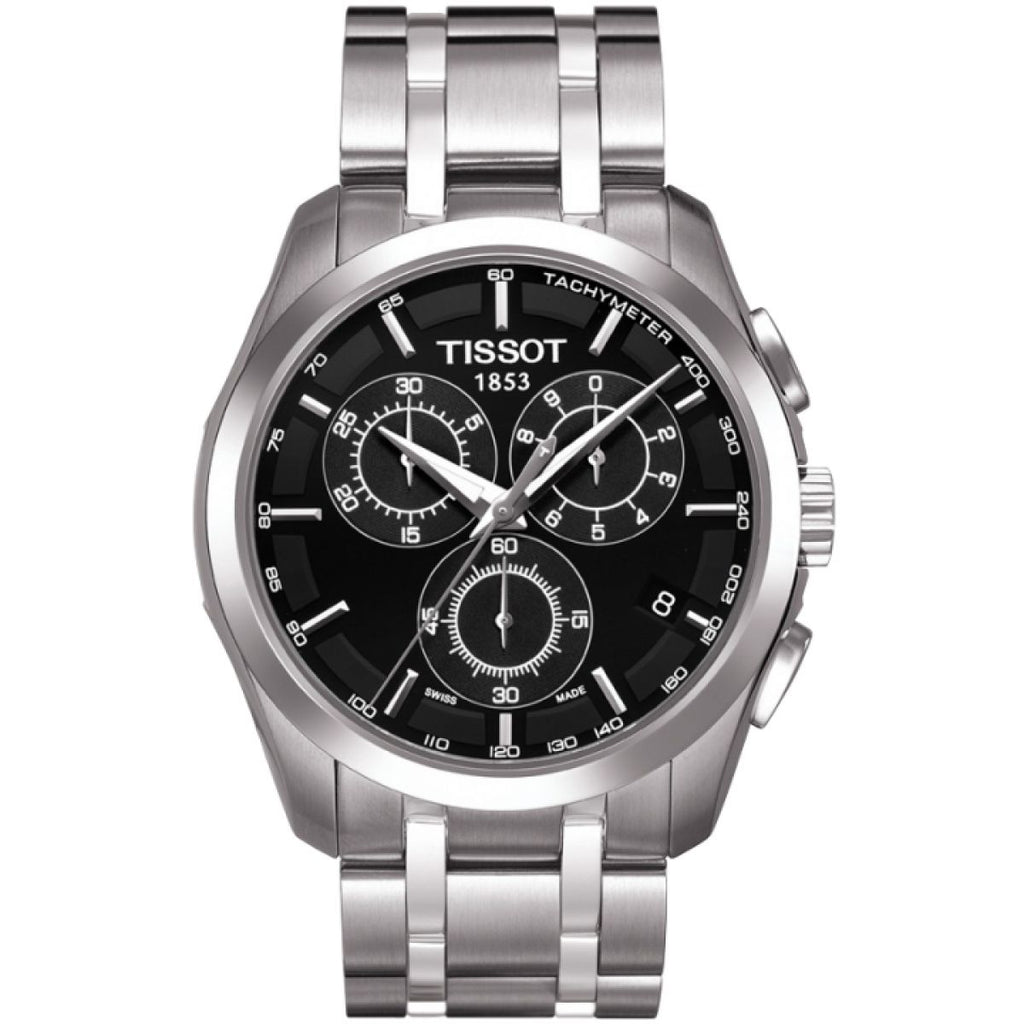 Tissot Couturier Chronograph Watch T0356171105100