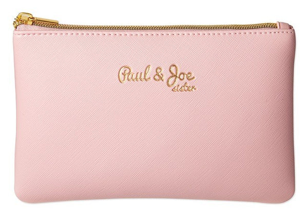 Japanese magazine gift Paul & Joe Pink Clutch Bag