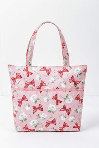 Japanese magazine gift Pink House limited edition Shoulder Bag with Zipper