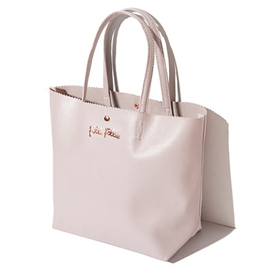 Japanese magazine gift Folli Follie Waterproof light purple tote bag