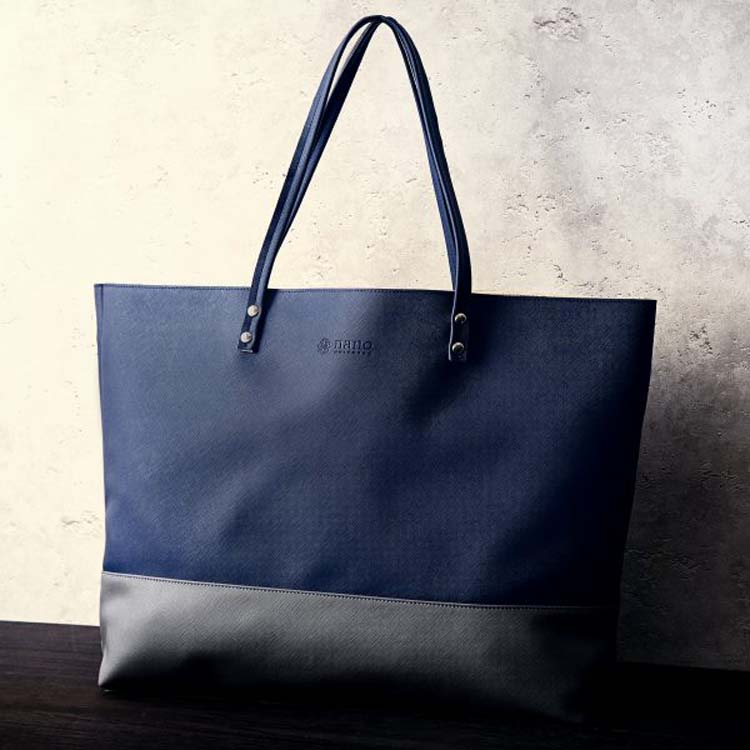 Japanese magazine gift Nano Blue Big Shoulder Bag