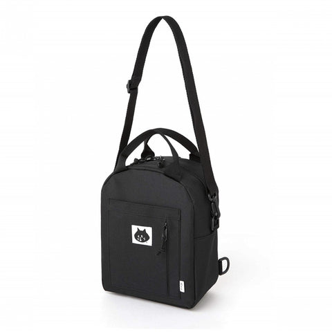 Japanese magazine gift Nya Three Way Bag Black