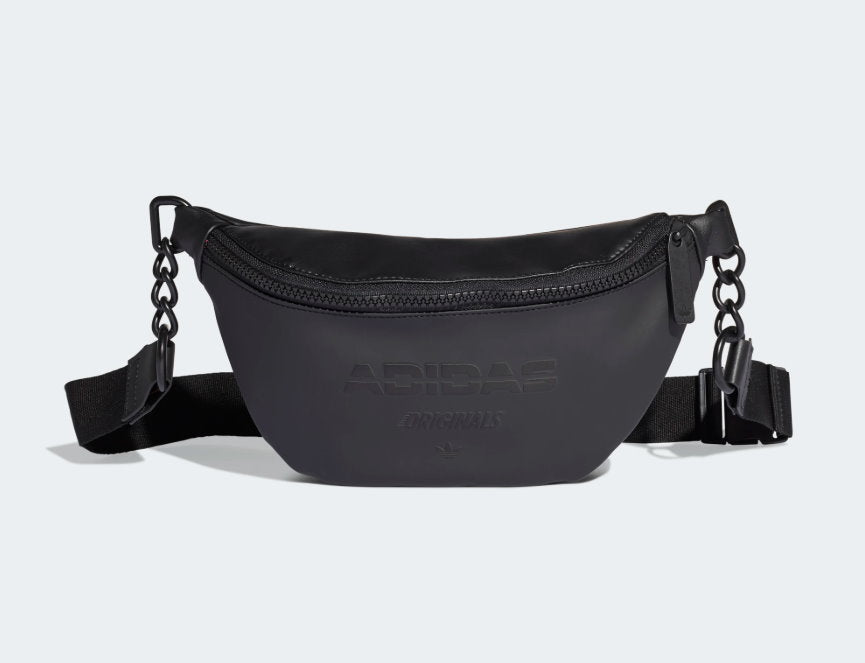 Adidas Black waterpoof Waist strap Bum Bag crossbody Bag