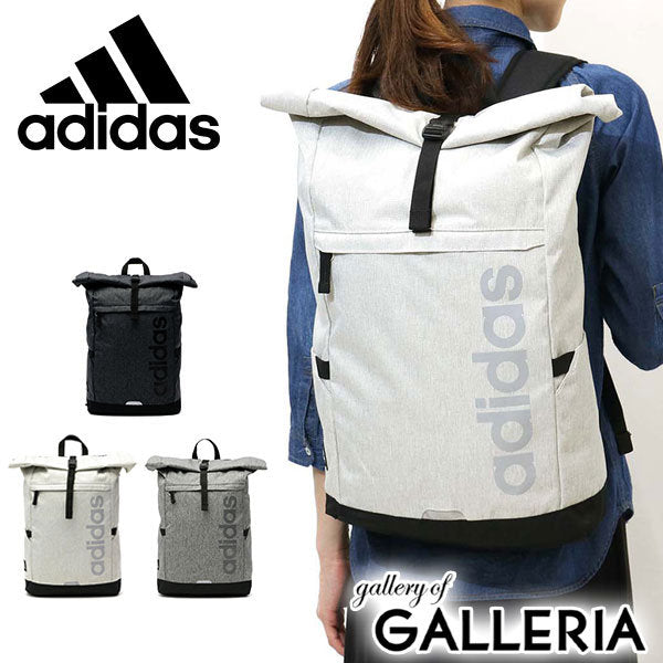 Adidas Roll-Top Waterproof canvas material Backpack 3 color
