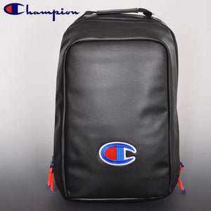 Champion school bag Leather bag Men Women backpack