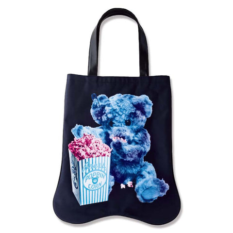 Japanese magazine gift Milk Boy black Canvas tote bag