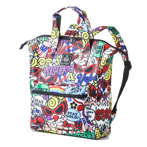 Japanese magazine gift Hysteric waterproff Backpack