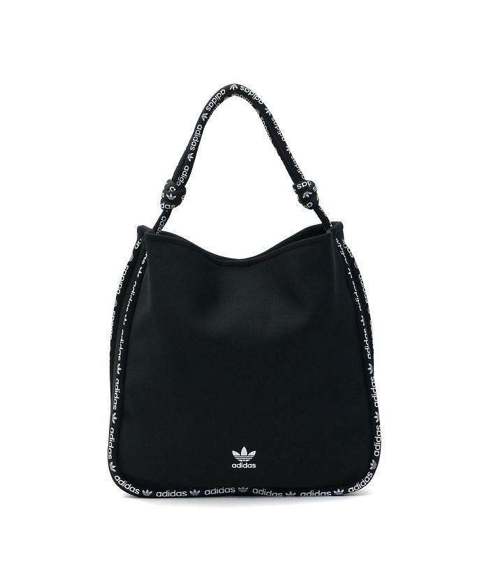 Adidas Black 2 way soft jersey fabric Shoulder bag