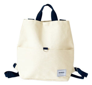 Japanese magazine gift Beams Boy Beige backpack