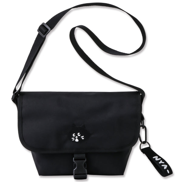 Japanese magazine gift Nya BlackCat Crossbody bag